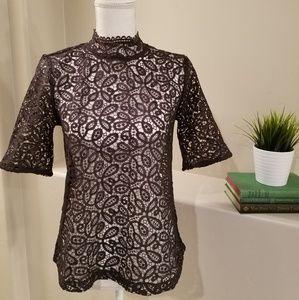 Ann Taylor Loft lace blouse